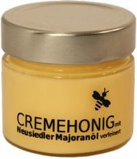 CREMEHONIG mit Neusiedler Majoranöl